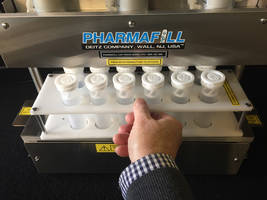 New Pharmafill CP3 Bottle Capper Presses up to 12 Caps at a Time