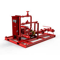 New Foam Fire Suppression Systems are Available with Single and Double Wall Construction