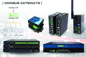New Modbus Gateways from Mencom Come with Data Concentrator Function