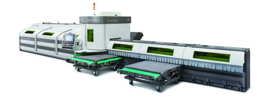 New LT7 Lasertube Cutting Machine Comes with Automatic Configuration Feature