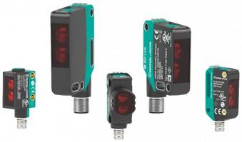 New R200 and R201 Optical Sensors Feature Standardized IO-Link Connection