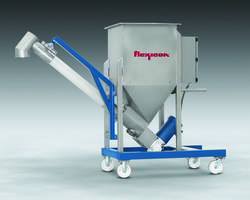 Flexicon Introduces Screw Conveyor Featuring Integral Bin and Caster-Mounted Frame