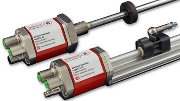 New Temposonics R-Series V Sensors Have Profinet and EtherNet/IP Outputs
