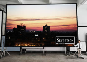 New QuickFold Projection Screens Come with Dual Frame Construction