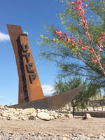 Direct Metals Provides Materials for University of Texas El Paso Monument in El Paso, Texas