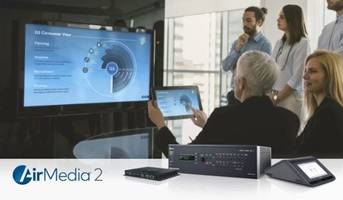 New AirMedia Wireless Presentation Systems Enable Wired and Wireless Presentations