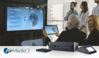 New AirMedia Wireless Presentation Systems Enable Wired and Wireless Presentations