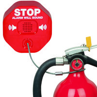 Latest STI-6200 Fire Extinguisher Theft Stopper Alarm Comes with Steel Cable Operated Switch Mechanism