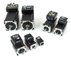 New StepSERVO Integrated Motors Feature Encoder Feedback and Advanced Control Loops