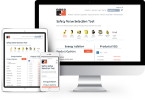 ROSS Controls Introduces New Safety Valve Selection Tool with Nine Different Safety Application