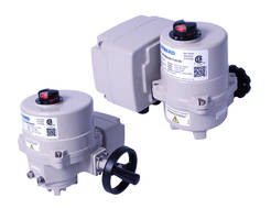 New Electric Failsafe Actuators are Offered with Internal Battery Backup
