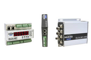 New DLCA Net Family Load Cell Amplifiers Feature Built-In Advanced Networking Capabilities