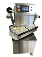 The New Portable Semi-Automatic Seal System is Ideal for Food Production or Packaging Environment