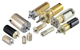 New PMDC and Planetary Gear Motors are Qualified to Mil-Spec Fractional Horsepower