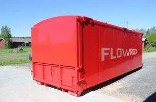 Flowrox Geobag Filtration and Dewatering Unit Comes with Packaged Pumping System