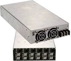 Four New Modular Power Supplies Available at Sager Electronics Features Improved Size and Performance