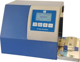New 10-20 Digital Ink Rub Tester Measures Scuffing and Rubbing Resistance