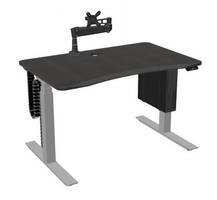 New Mojo Gamer Pro Gaming Desk Comes with Electric-Powered 3-Stage Steel Telescoping Frame