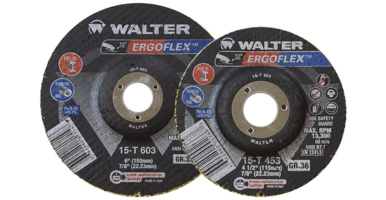 New ErgoFlex Abrasive Discs Designed for Smooth Weld Blending on Flat and Curved Surfaces