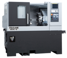 New Tsugami M08J CNC Lathe Features a Rigid Construction with Oversized Linear Guides for Heavy-duty Machining