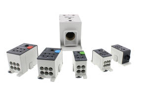 New Screw-Type Distributor Blocks are Designed for Energy Distribution in Control Cabinets