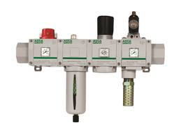 New ASCO Numatics Series 653 Air Preparation Products Offer Endplate Flanges for Removal of Manifold Assembly without Disconnecting the Piping