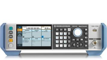New Signal Generators Deliver up to +34 dBm Output Power