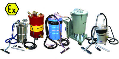 VAC-U-MAX Industrial Vacuum Cleaners Now ATEX-Certified