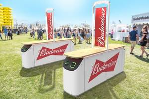 Latest BeerBox Beer Vending Machine Features Cashless Payment System