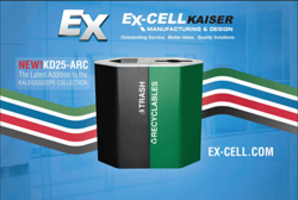 Ex-cell Kaiser's New Addition to Kaleidoscope Receptacle Collection Makes Recycling Possible at Home