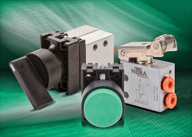 AutomationDirect Expands NITRA Brand with Addition of 22mm Pneumatic Pushbutton and Switch Pilot Devices