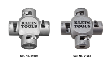 Klein Tools Introduces Large Scale Strippers to Keep Wires from Getting Damaged or Nicked
