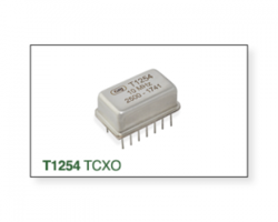New T1254 Series Crystal Oscillator is Designed for Low Orbit Satellite Applications