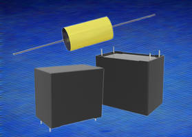 New Polypropylene Film Capacitors are Rated to UL 810 Standards for Fail-Safe Operation