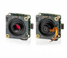 New USB 3.1 Board Level Cameras Feature Twist-Proof USB Type-C Connection