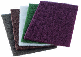 Versatile POLINOX® Hand Pads from PFERD Handle a Wide Array of Grinding and Cleaning Needs