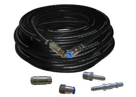 Huntingdon Introduces Argon Gas Feed Hose Assemblies with Leak Tight Fittings