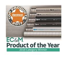 Stainless Steel Flexible Conduits by Electri-Flex Wins Awards