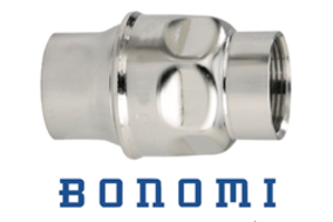 Bonomis' New Series S250 In-line Check Valves Features Leak-free Service and Low-cracking .50-PSI Spring-loaded FKM Seat