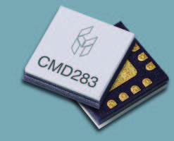 New CMD283C3 Low Noise Amplifier Comes with 0.6 dB Noise Figure