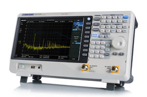 New SVA1015X Spectrum/ Vector Network Analyzer Offers Built-in Tracking Generator for Automatic Measurements