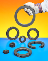 New Special Threaded Shaft Collars & Bearing Lock Nuts Includes Heat Treating, Spanner Wrench Slots and Face Holes