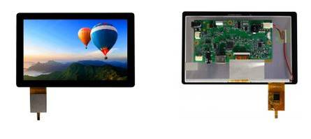 New HDMI TFT Displays Feature Resolution of WXGA 1024 x 600