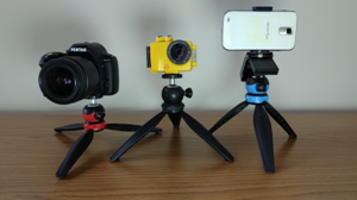 New Kalt TT-4 Table-Top Tripod Features Height-Adjustable Legs