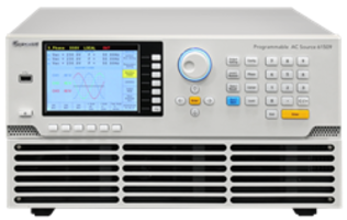 New 6150/7/8/9 Programmable AC Power Sources Feature Built-In 16-bit Measurement Circuits