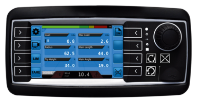 New qSCALE Maestro Load Moment Indication System Comes with User Friendly 4.3 in. Color Display