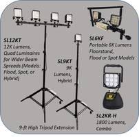 CME's SiteLites 12,000 Lumen LED Tripod Work Light Launched