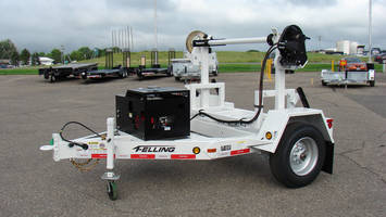 Felling's Turret Reel Trailer Custom-Made for Municipal Power Entity