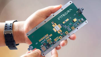 Integra Launches GaN/SiC RF Power Modules for Creating SWaP-C Optimized High Power Amplifiers