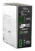 New PS480D72 Switching Power Supply Comes in Fan-Less Design, DIN-Rail Mounted Enclosure